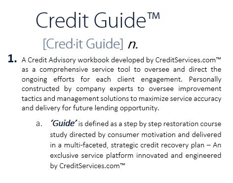 credit guide